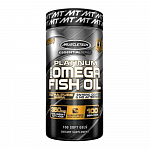 MuscleTech Fish Oil, Platinum 100%, 100 капс