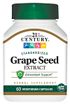 21st Century Grape Seed Extract, 60 капс
