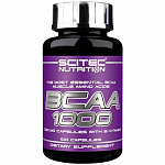 Scitec Nutrition BCAA 1000 with Vitamins B, 100 капс