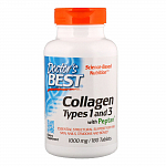 Doctor's Best Collagen Types 1 & 3 with Peptan 1000 mg - 180 таб