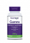Natrol Guarana 200 mg, 90 капс
