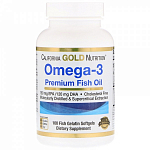 California Gold Nutrition Omega-3, 100 капс