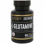 California Gold Nutrition L-Glutamine 1000 mg, 60 капс