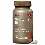 GNC Melatonin 10 mg, 60 таб
