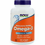 NOW Omega-3, 200 капс